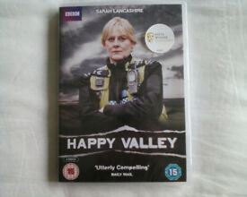 HAPPY VALLEY SERIES 1 DVD, NEW, STILL SEALED