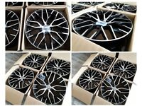 """HT120* NEW 19"""" 20"""" 21"""" INCH ALLOY WHEELS ALLOYS FITS AUDI A3 A4 A5 R8 A6 A7 A8 S3 S4 S5 S6 S7 TT"""