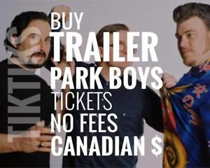 Trailer Park Boys Tickets. Way cheaper than StubHub/Ticketmaster. No fees, CAD$, 5% off for new customers!