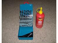 Tivoli HSS/CO drill set