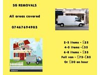 MAN AND VAN TIME SLOTS AVAILABLE TODAY CALL 07467694983 2 MAN TEAM