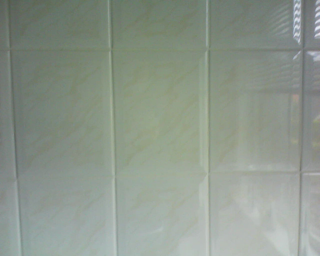 35 New Ceramic Wall Tiles Cream With Hint Of Peach 15 X