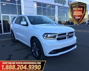 2017 Dodge Durango GT| Leather| Low KM| AWD| Rear dual DVD