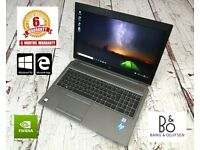 HP ZBOOK 15 G5 Workstation laptop for CAD / GAMING /PHOTOSHOP + 6 MONTHS WARRANTY