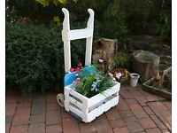 Planter Garden Wedding Antique Sack Barrow Trolley Shop