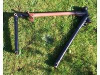 BSA C11 C10 rigid frame 1946 - Solid for its age - will post for £9
