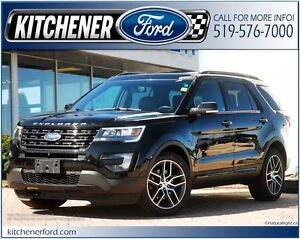 2016 Ford Explorer Sport 4WD/LEATHER/RMT START/CAMERA/PANO RO...