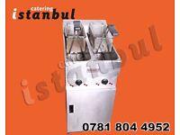 VALENTINE V2200 MODEL ELECTRIC FRYER 2 BASKET 2 TANK SINGLE PHASE