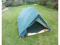 Vintage Blacks of Greenock one person ridge tent.