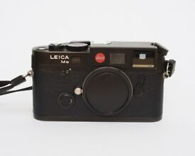 Leica M6 TTL .72 Camera Body Black, Motor, Biogon T* 35mm f/2, Planar T* 50mm f/2