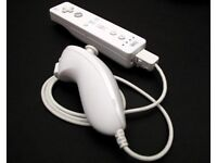 Official nintendo wii remote and nunchuk controller