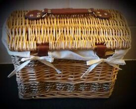 Wicker Gift Hamper/Storage Basket