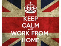 Work from home - Flexible hours - £50/day + Generous Commission.