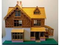 1:12 Scale custom handcrafted doll's house
