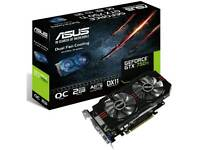 Geforce GTX 750TI OC Asus 2GB