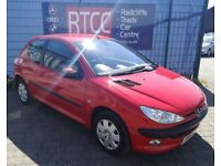 2003 (53 reg), Peugeot 206 1.4 HDi LX 3dr (a/c) Hatchback, AA COVER & AU WARRANTY INCLUDED, £795 ono