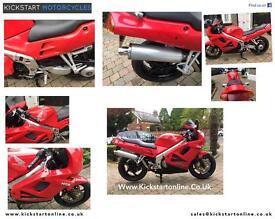 Honda vfr750f 1997 good clean bike motd running well £1399