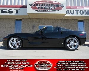2009 Chevrolet Corvette 3LT TARGA, 6.2L V8, HEAD'S UP, NAV, LOW