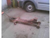 vintage lorry trolley jack barn find