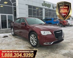 2016 Chrysler 300 Touring  Leather  LOW KM  AWD  Sunroof