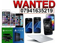 WANTED - IPHONE 6S 6 PLUS 5S 5 SAMSUNG S7 EDGE S6 S5 HTC XPERIA LG G5 G4 NOTE IPAD PRO