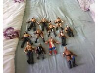 wwf figures for sale 12 in all