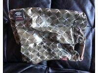 Babymel nappy bag and changing mat