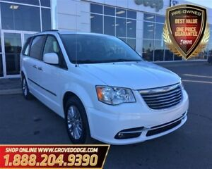 2016 Chrysler Town & Country Touring  Low KM  Leather  Dual DVD 