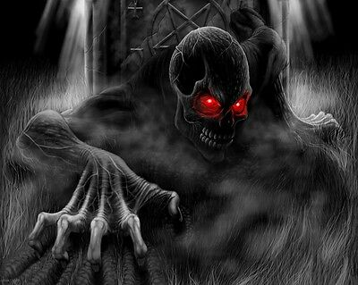 Halloween Decoration Ghosts Pumpkin Scary Creepy Zombies FRIDGE MAGNET #27 - Creepy Halloween Pumpkins