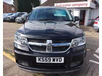 DODGE JOURNEY 2.0 SXT CRD 5d AUTO 138 BHP (black) 2009