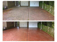 Affordable driveway, patio, decking, render,conservatory, roof, facia & gutter cleaning
