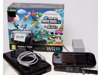 Wii U 32gB with 7 excellent games.