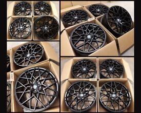 "HT832* NEW 20"" ALLOY WHEELS ALLOYS BLACK BMW 7 6 3 4 5 SERIES Z4 M PERFORMANCE G20 G30 G32 G29 G12"