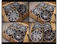 "HT255* NEW 20"" INCH ALLOYS ALLOY WHEELS FIT RANGE ROVER SPORT / RANGE ROVER VOGUE DISCOVERY 5X120"