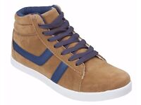LADIES TRAINERS SIZES: 2 / 3 & 4 UK COLOUR BROWN BRAND NEW WITH TAGS RRP £24.99