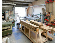 Bench space in Frome. In fully functional woodworking workshop.