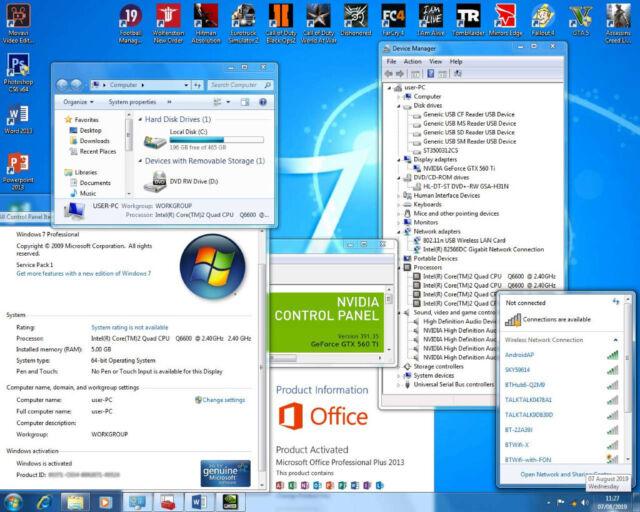 Gaming PC + Nvidia GTX 560 Ti + 14 Games (i5, WIFI, Fortnite, GTA 5, Pubg,  Dell) PC, i7, Computer   in Bethnal Green, London   Gumtree