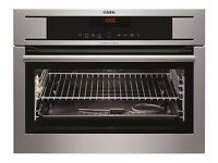 BRAND NEW AEG Competence KP8404001M Electric Convection Single Oven