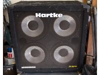 Hartke 4 x 10 Bass speaker / cab