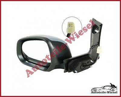 View Max Spiegelkappe Links Schwarz für Suzuki Splash Opel Agila H08