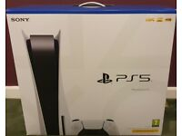 Sony Playstation 5 Disk Edition Console - Brand New Sealed