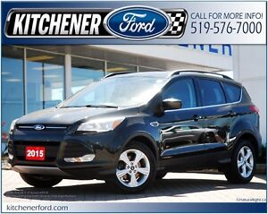 2015 Ford Escape SE SIRIUS/LEATHER/CAMERA/HTD SEATS/PWR GROUP