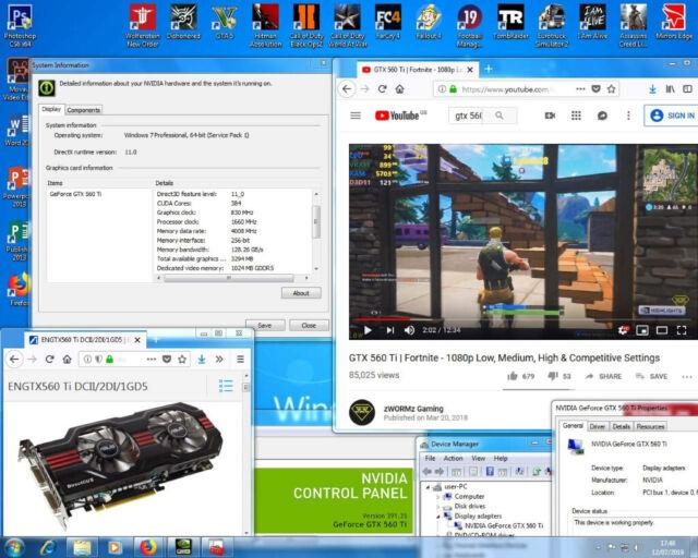 Gaming PC + Nvidia GTX 560 Ti + 14 Games (i5, WIFI, Fortnite, GTA 5, Pubg,  Dell) PC, i7, Computer | in Bethnal Green, London | Gumtree