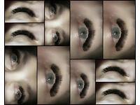 Amazingly beautiful eyes -Volume lash extensions ENFIELD EN1