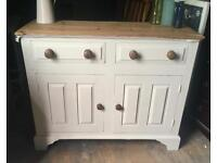 Upcycled farmhouse sideboard