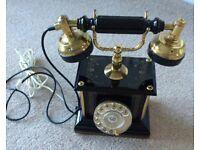 Antique vintage telephone