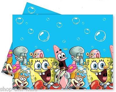 SpongeBob 's Party Kindergeburtstag 1 Tischdecke - NEU