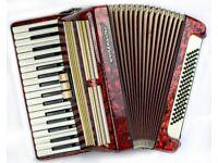 Worldmaster 80 Bass / 34 Keys - 2 Voice Piano Accordion