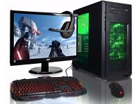 URGENT! RRP £799 POWERFUL GAMING PC - barely used, comes with keyboard, mouse, headset, monitor
