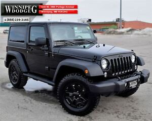 2016 Jeep Wrangler Willy's Edition 4x4 *LOCAL*